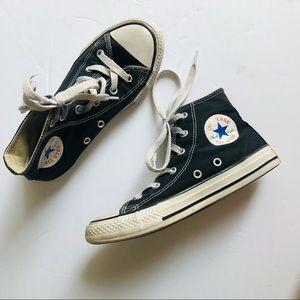 Kids Black High Top Converse